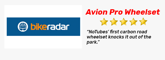 Great BikeRadar Review of the Avion Wheelset